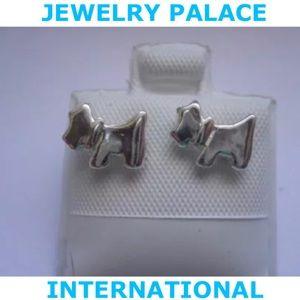 🆕Stainless Steel Tiny Doggie Stud Earrings.